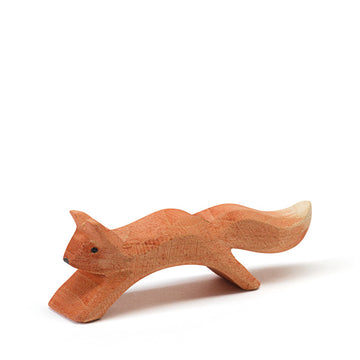 Ostheimer -squirrel jumping - wooden toy - Bella Luna Toys