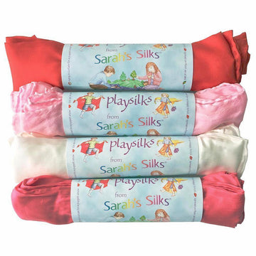 Sarah's Silks - Valentine's Day Play Silks Set - Bella Luna Toys