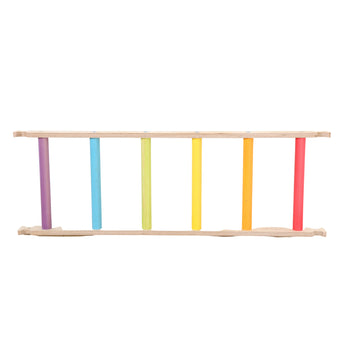 Sawdust and Rainbows - Wooden Ladder for Pikler Climbing Frame - Bella Luna Toys