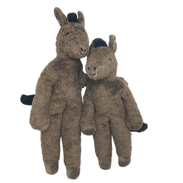 Senger - Organic Cotton - Plush Brown Horse - Bella Luna Toys
