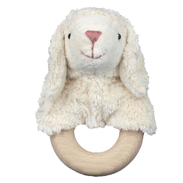 Senger - Organic Teething Ring - Clutching Toy - Sheep - Lamb