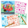 Travel Bingo Car Game - eeBoo - Contents