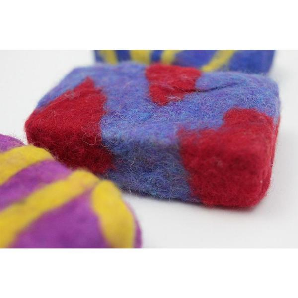 Harrisville Designs - Felted Soap Bar Kit - Detail - Bella Luna Toys