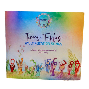 Waldorf Family - Times Tables Multiplication Songs - Audio CD - Educational Learning - Bella Luna Toys