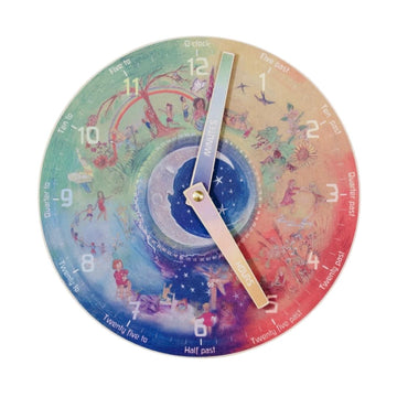Waldorf Family - Teaching Clock - Bella Luna Toys