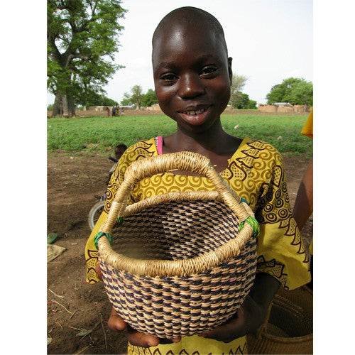 Bolga Basket, Small Lunch Basket
