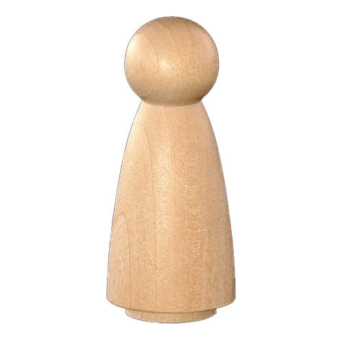 Angel - Female Wooden Peg Doll