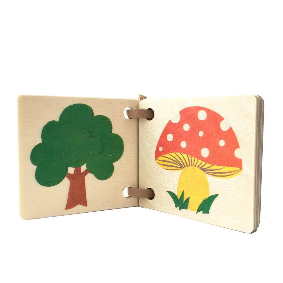 Mini Wooden Picture Book