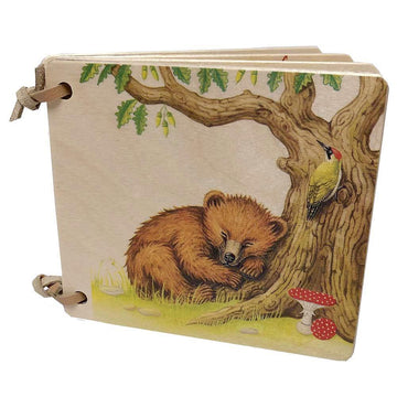 Wooden Board Picture Book - Bears - Switzerland - Bella Luna Toys