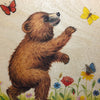 Wooden Board Picture Book - Bear Illustration - Bella Luna Toys