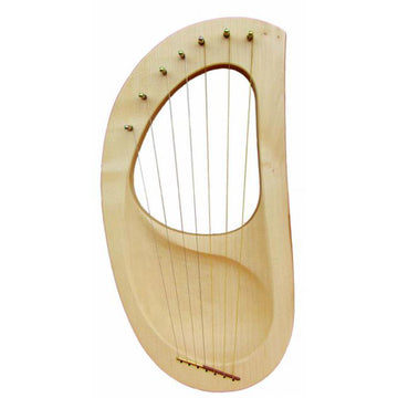 Auris Pentatonic Children's 7-String Harp Lyre Kinderharp - Bella Luna Toys