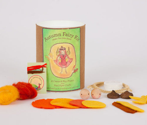 Autumn Fairy Craft Kit - Contents