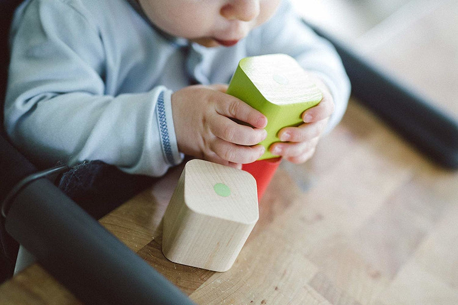 Baby's First Magnetic Blocks - 6-Piece Set