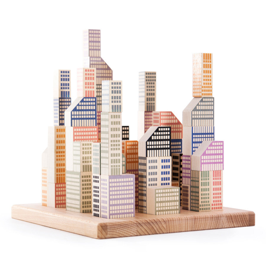 Bajo Manhattan City Blocks | Bella Luna Toys