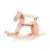Bajo Wooden Rocking Horse with Side Rails