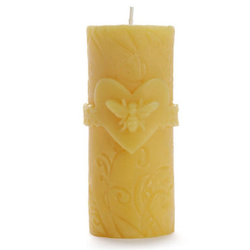 Big Dipper Bee Love Beeswax Candle