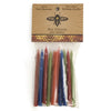 Beeswax Birthday Candles - Multi-Colored