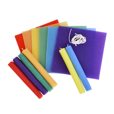 Beeswax Candle Making Kit - Rainbow | Bella Luna Toys