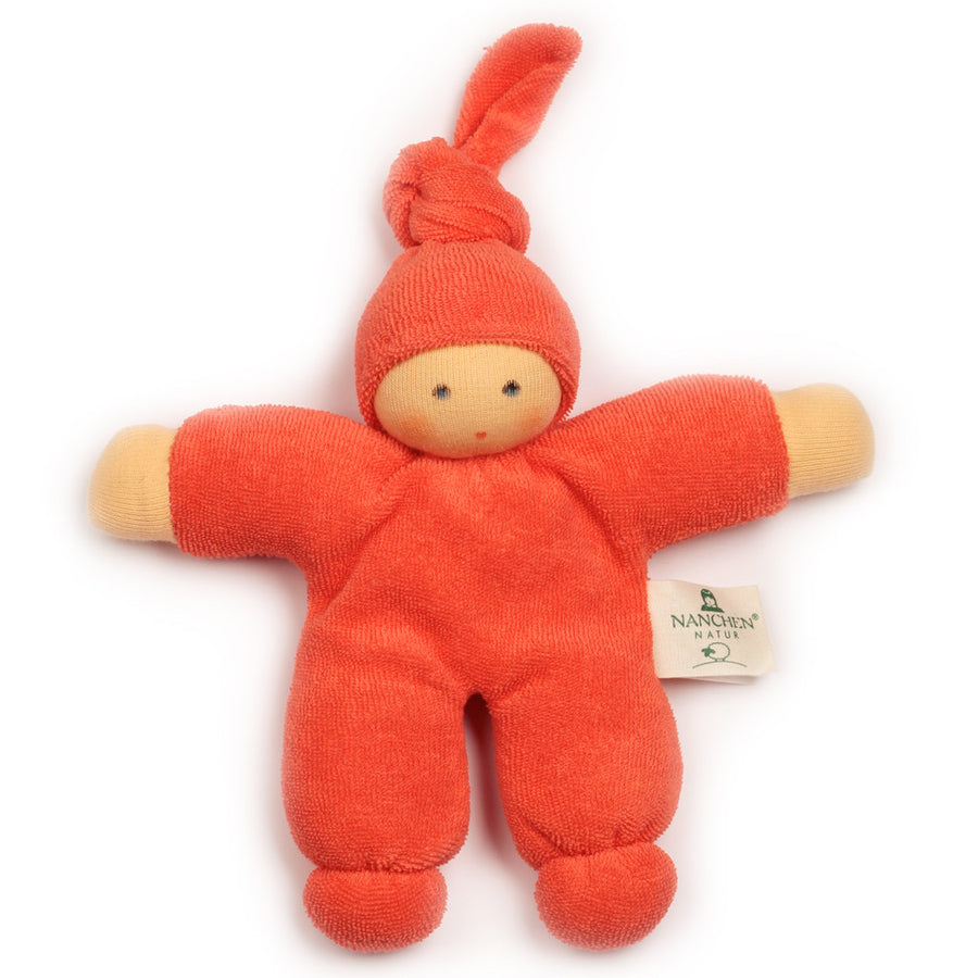 Bella Baby Organic Terry Waldorf Doll - Orange