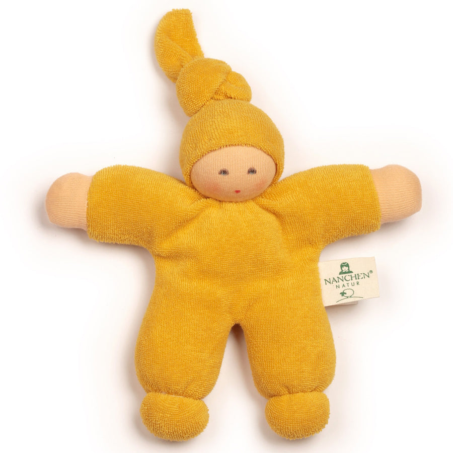 Bella Baby Organic Terry Waldorf Doll - Yellow
