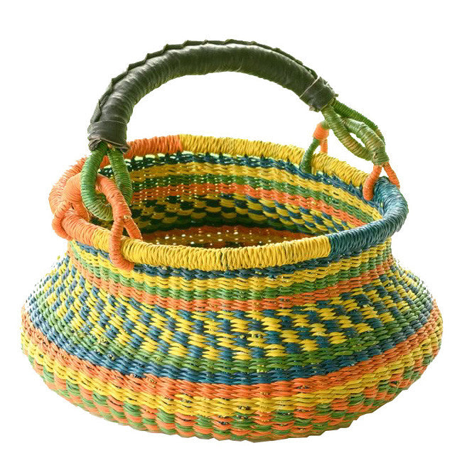 Swing Handle Bolga Basket