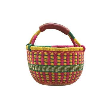 Bolga Basket - Made in Ghana - Bella Luna Toys
