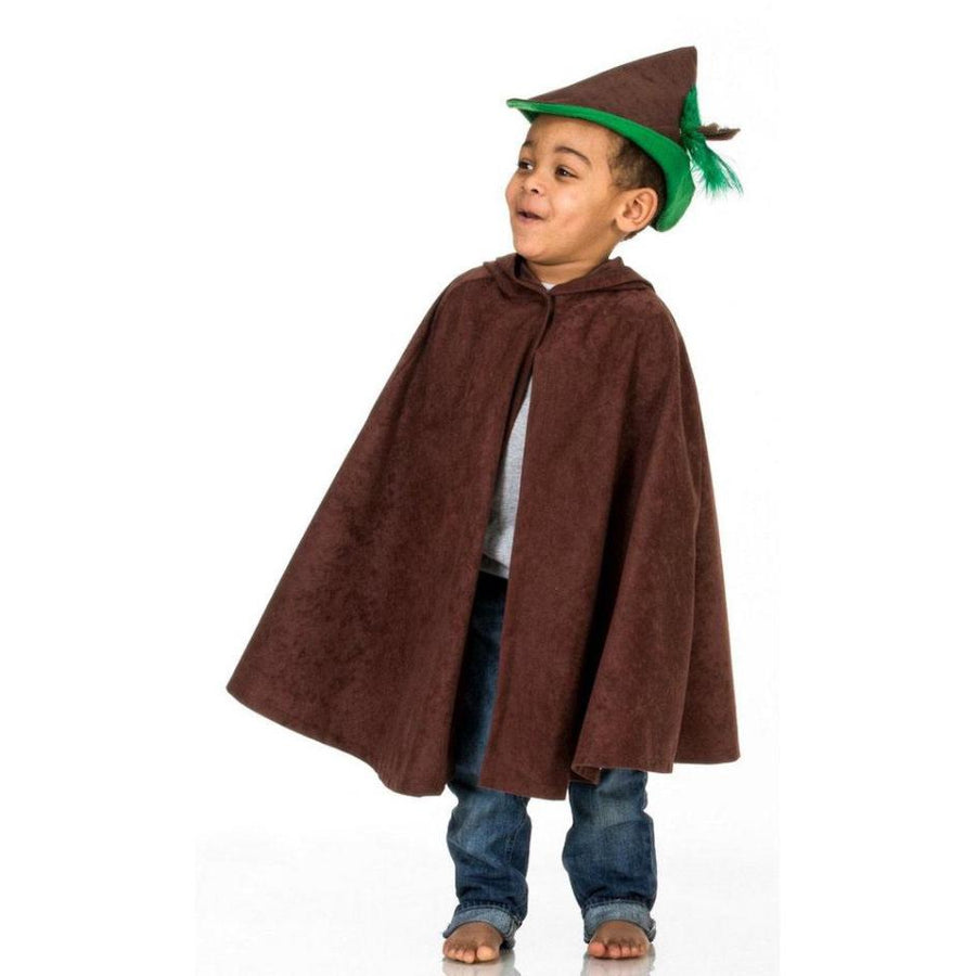 Toddlers Robin Hood Costume Brown | Bella Luna Toys