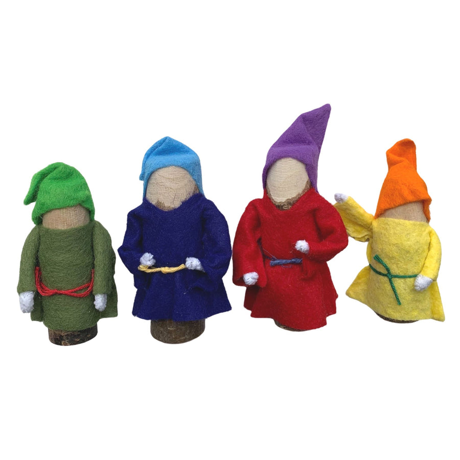 Branch Family Gnome Doll Set