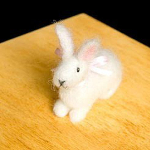 Needle Felting Kit, Woolpets Bunny Rabbit