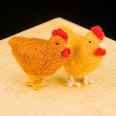 Needle Felting Kit, Woolpets Chickens