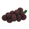 Colours of Australia - Papoose - Felt Grapes - Play Food
