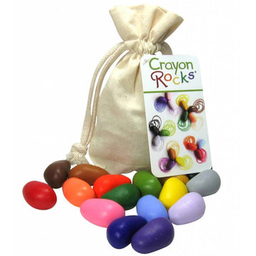 Crayon Rocks - Muslin Bag - 16 Colors