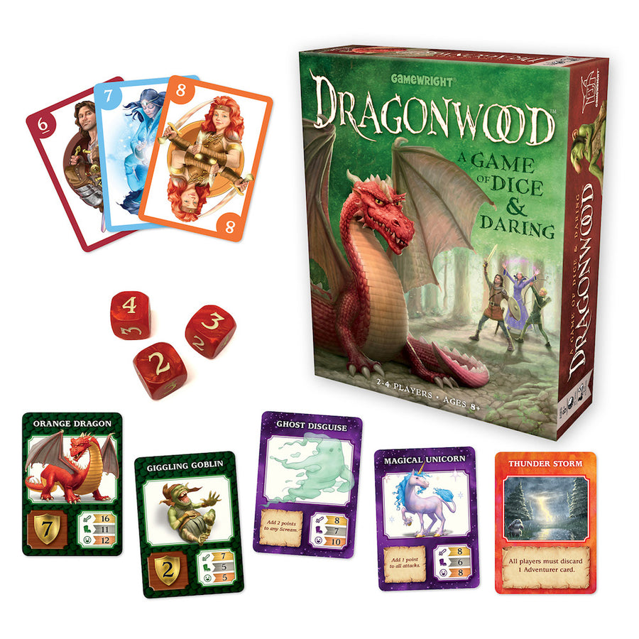 Dragonwood Game - Contents - Bella Luna Toys