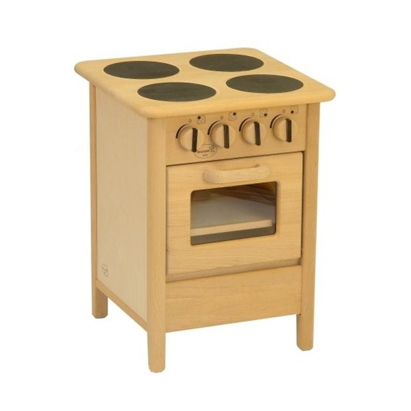 Euro Cooker Wooden Toy Play Kitchen