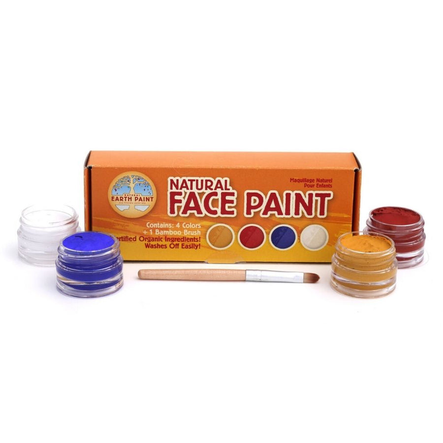 Natural  Face Painting Kit - 4 Pc