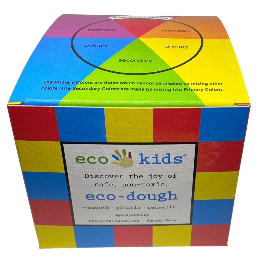 eco-dough - Natural Play Dough - 3 Pack