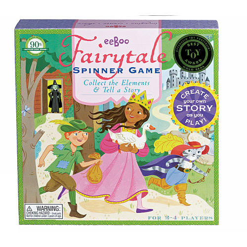 eeBoo Fairytale Spinner Storytelling Board Game
