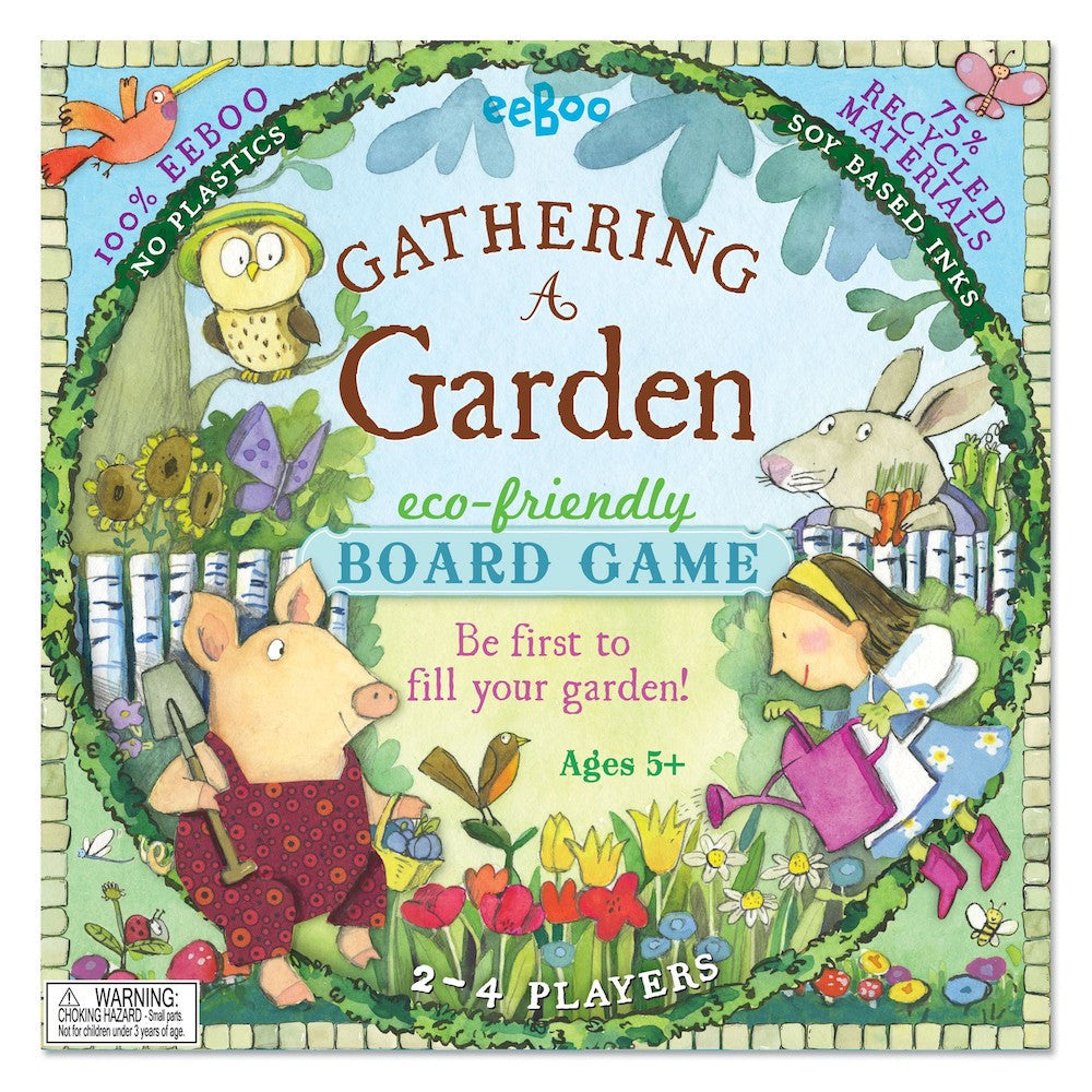 Gathering a Garden | Board Game | eeBoo