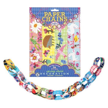 eeBoo Paper Chains Kit - Spring - Bella Luna Toys