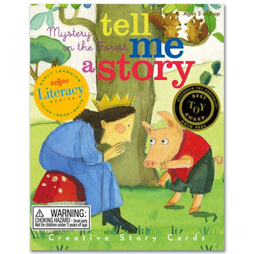eeBoo Tell Me a Story: Mystery in the Forest, Storytelling Cards