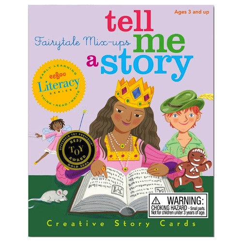 EeBoo Tell Me A Story Fairy Tale Mix Up Storytelling Cards