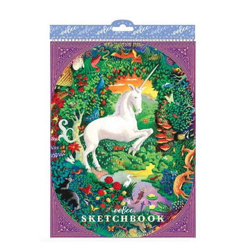Unicorn Sketch Book - eeBoo - Bella Luna Toys