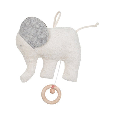 Elephant Music Box - Organic - Effie - Bella Luna Toys