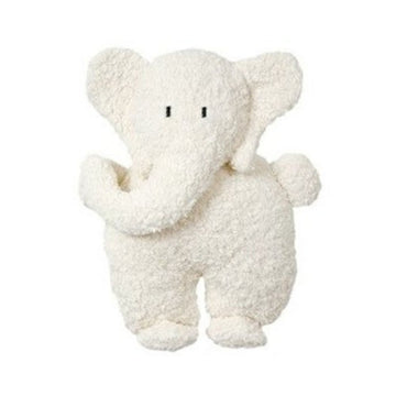Flat Organic Stuffed Elephant | Soft Baby Toy | Bella Luna Toys