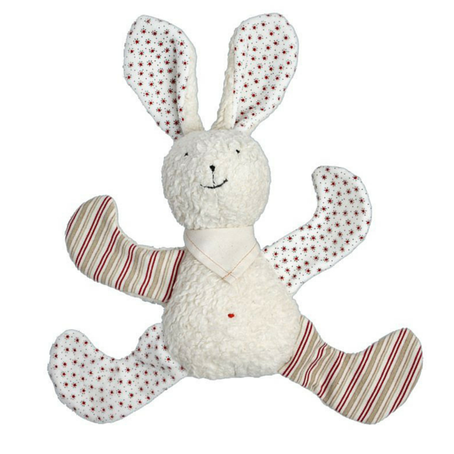 Organic Cuddle Bunny Rabbit - Soft Baby Toy - Bella Luna Toys