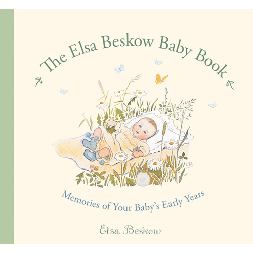 The Elsa Beskow Baby Book - Cover