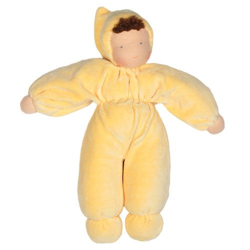 Waldorf Baby Doll - Yellow, Fair Skin