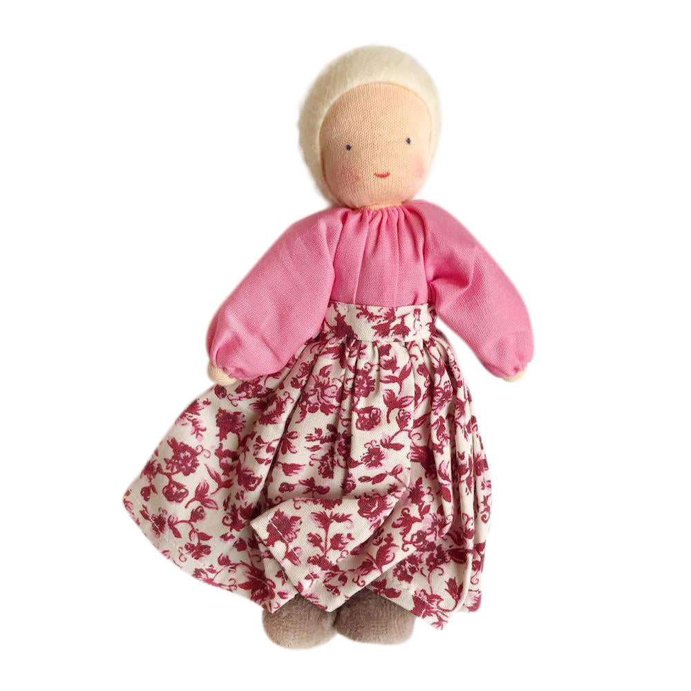 Evi Dollhouse Grandmother - Blonde Hair - Bella Luna Toys