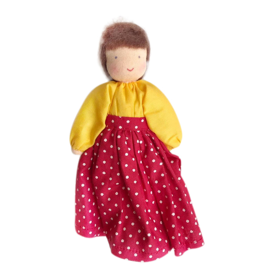 Evi Dollhouse Mother - Brown Hair - Bella Luna Toys