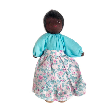 Evi Dollhouse Mother -Dark Skin - Bella Luna Toys